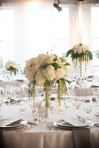 green and white floral | Lavish Greek Wedding by Pravda Events | Photography by Barbie Hull