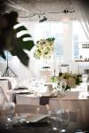 Green + White Floral | Lavish Greek Wedding by Pravda Events | Photography by Barbie Hull