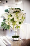 Green + White Floral | Lavish Greek Wedding by Pravda Events | Photography by Barbie Hull