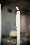 white candlestick | Lavish Greek Wedding by Pravda Events | Photography by Barbie Hull